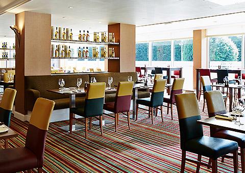 Edinburgh Marriott Hotel Restaurants at Edinburgh